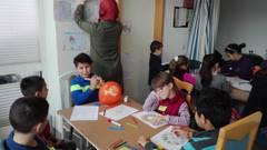 Projekt Flüchtlingskinder